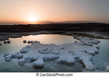 Dead Sea salt water