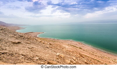 Dead Sea Twilights, Israel - Dead Sea Twilights Timelapse,...