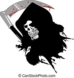 dead skull - death with the bloody sword