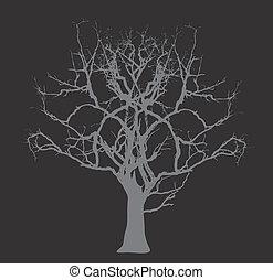 Dead Tree - Halloween Concept