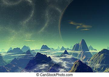 Dead World - Scifi scenery.