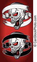 dead zombie evil horror skull