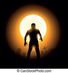 Dead Zombie Rising Halloween - Halloween. A Zombie Rising ...
