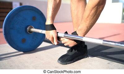 deadlift, poignet, haltérophilie, musculation, powerlifting...