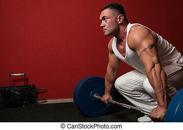 deadlift, tung vikt