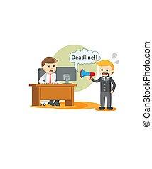 deadline., 信息