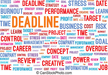 Deadline Word Cloud