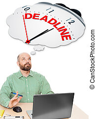 deadline, zakenmens