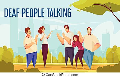 Deaf People Talking Background - Deaf people talking ...