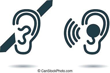 deaf.eps - International Day of the Deaf. icon deaf. Icon...