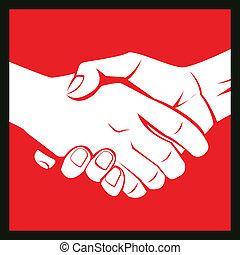 deal hand