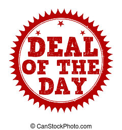 Deal of the day stamp