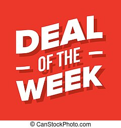 Deal of the Week lettering