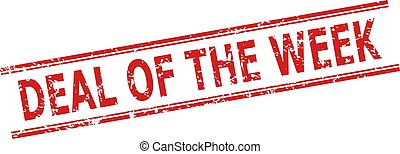 DEAL OF THE WEEK Stamp with Unclean Surface and Double Parallel Lines