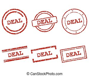 Deal stamps