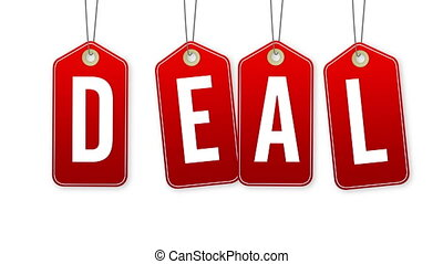 Deal Tags - Swinging Deal Tags