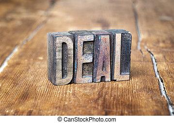 deal word wood