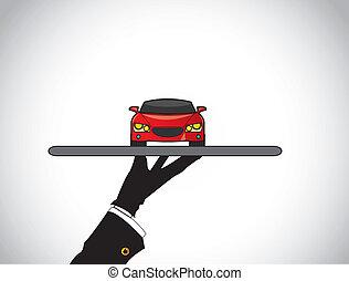 dealer agent sale best red car