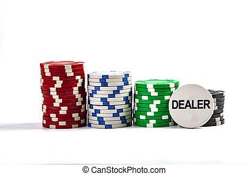 Dealer Casino Chip
