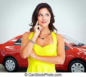 dealer., voiture