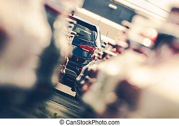 Dealership Cars Alley
