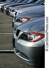 dealership grey cars