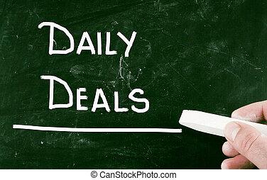 deals, daglige
