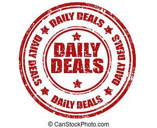 deals-stamp, alledaags