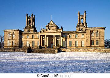 Dean Gallery Edinburgh In Snow