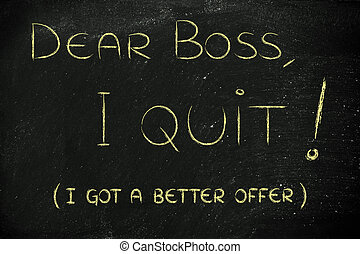 Dear boss, I quit (I'm moving abroad)