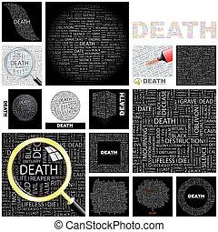 Death. Concept illustration.