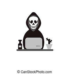 Death for laptop