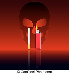 Death from smoking