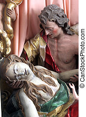 Death of Saint Mary Magdalene