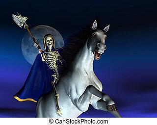 Death on Horseback - 3D render