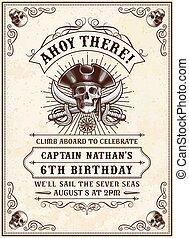 Death Pirate Invite 2