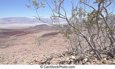 Panamint Valley Death Valley from Father Crowley Vista Point California