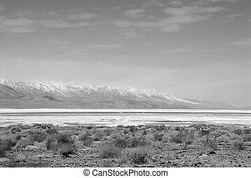 death valley, salzen pfanne