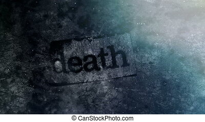 Death word non looping backdrop - Death word non looping...