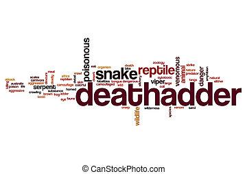 deathadder, λέξη , σύνεφο