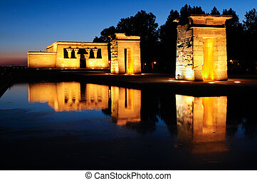 debod, マドリッド, 寺院, スペイン