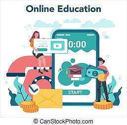 Debt collector online service or platform. Pursuing payment ...