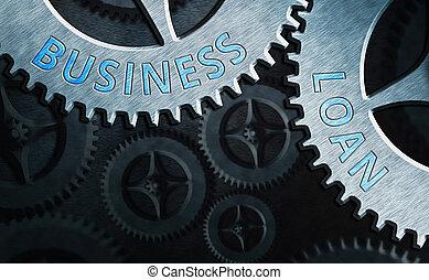 debt., crédit, financier, mot, business, écriture, concept, avances, hypothèque, assistance, texte, espèces, loan.