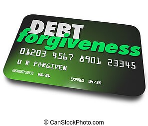 Debt Forgiveness Loan Balance Repayment Consolidation Credit Car