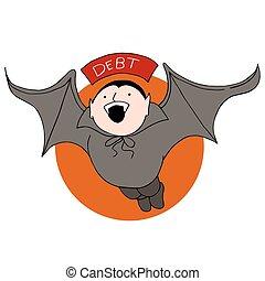 Debt Vampire Bat