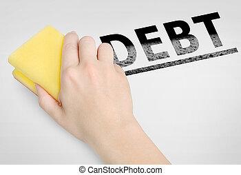 Debt word