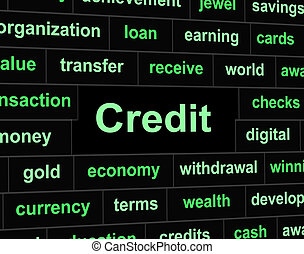 Debts Credit Means Debit Card And Bankcard - Debts Credit...