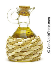 Decanter with oil