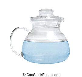 Decanter with water