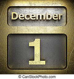 december 1 golden sign